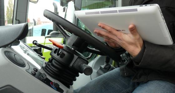 Application Terminal Universel Isobus pour tablettes Claas - Sima 2013