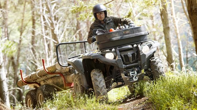 Quad Yamaha Grizzly 700 Wthc