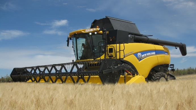 Moissonneuse-batteuse conventionnelle New Holland CX 8000 Elevation
